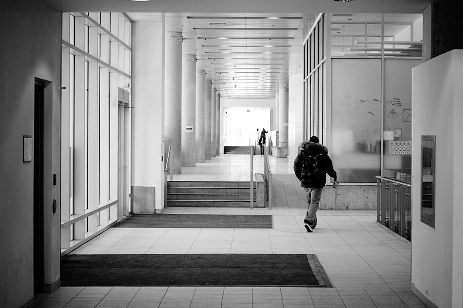 no more empty halls